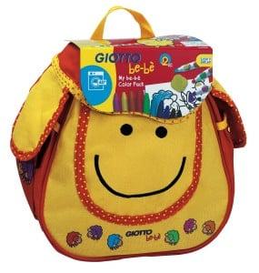 kit de loisirs créatifs pour enfants sac à dos giotto bebe
