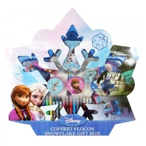 kit de loisirs créatifs pour enfants la reine des neiges