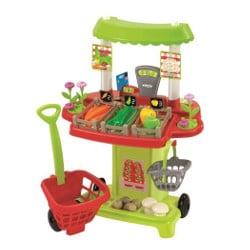 marchande Stand du marchand de légumes Ecoiffier pour enfant