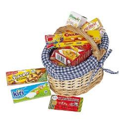 Panier en osier et ses produits pour épicerie Polly Products