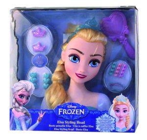 tête à coiffer la reine des neiges