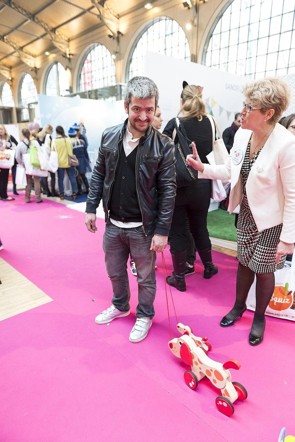 Efluent mums 2015 : Grégoire parmi les VIP