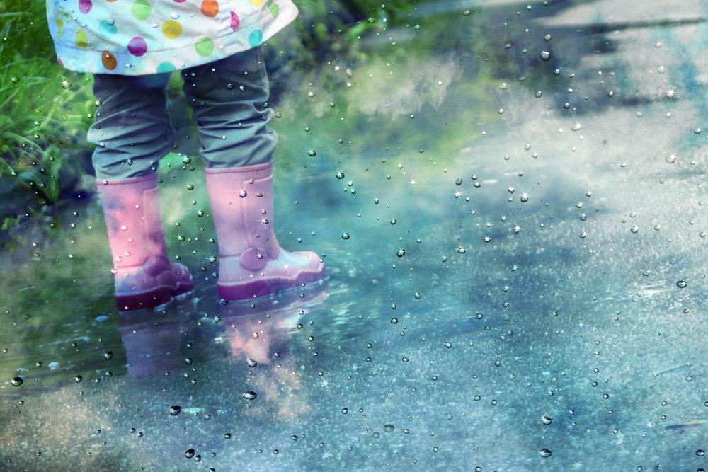 sélection de bottes de pluie enfants