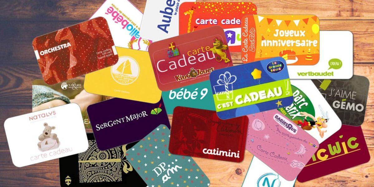 faites des économies avec les cartes cadeaux