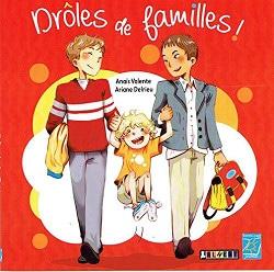 livre enfant drôles de familles