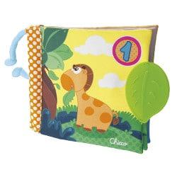 Livre d'éveil Chicco pour bébé Premières découvertes en balade