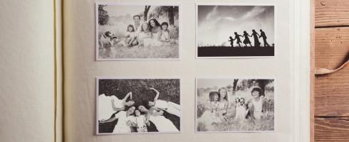 partage photos de famille