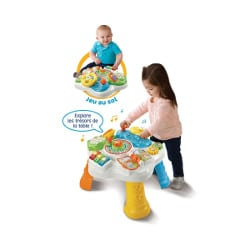 table d'éveil parlante 2 en 1 pour enfant