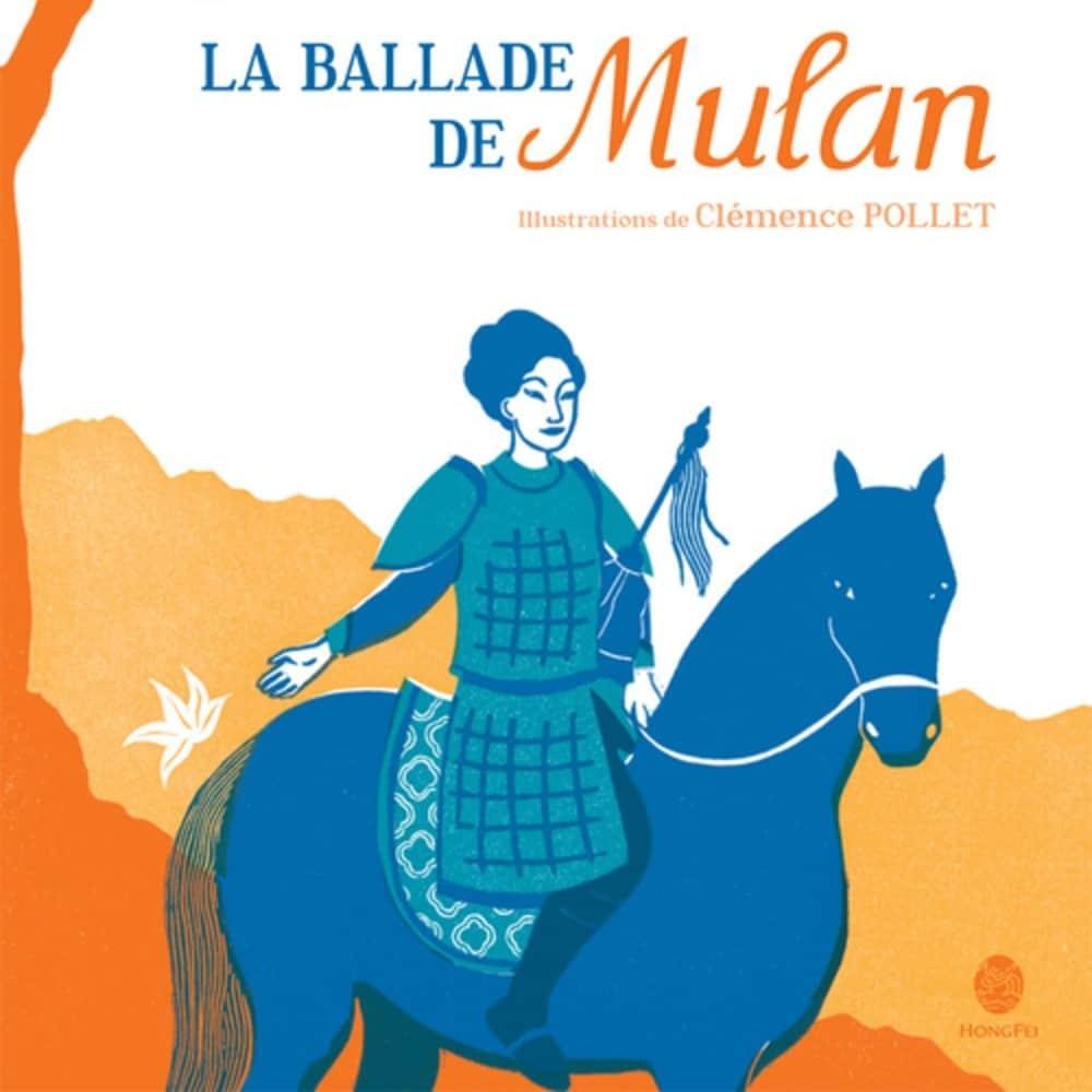 album jeunesse brindacier 2016 : la ballade de Mulan