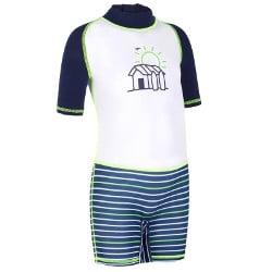 combi et tee shirt anti UV Decathlon pour enfants