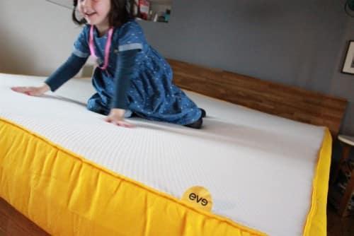 Eve Matelas : un matelas pour les enfants aussi