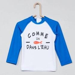 t-shirt-anti-uv-imprime-bleu-kiabi