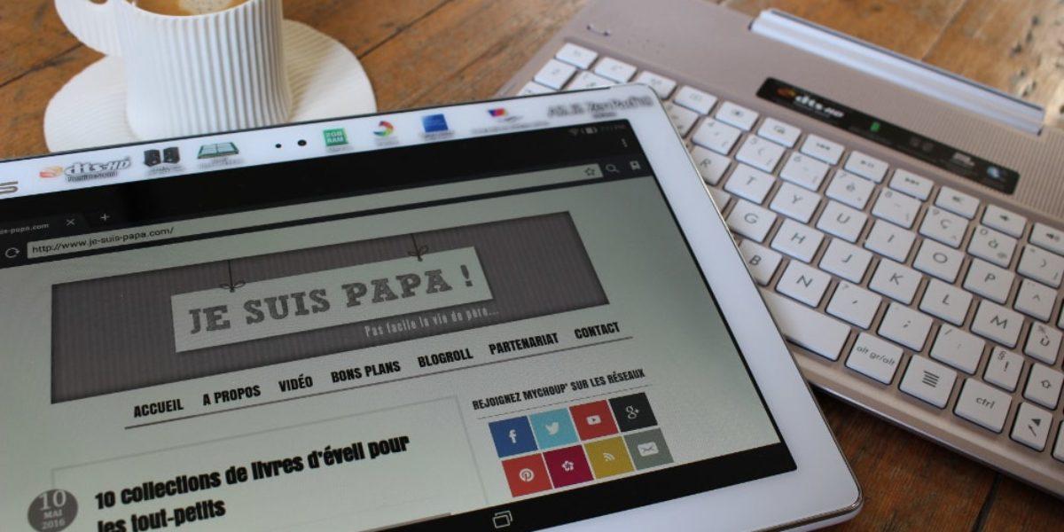 ASUS Zenpad : tablette équipée d'un clavier