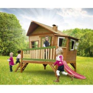 cabane en bois pour enfant Axi Emma