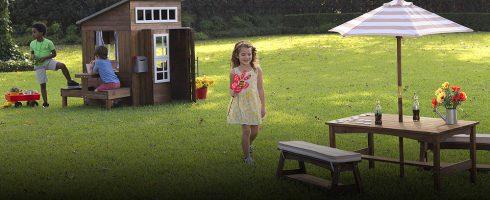 sélection de cabanes en bois pour enfant