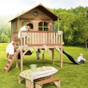 Maison en bois pour enfant Sophie Axi
