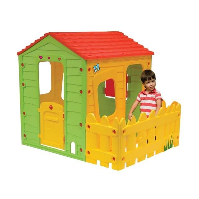 Cabane enfant en PVC Habitat et Jardin