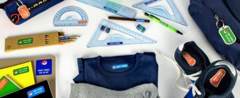 étiquettes pour vêtements enfants