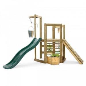 Aire de jeux en bois Discovery Woodland Treehouse