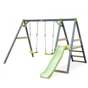 toboggan et balançoires pour enfants