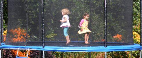 trampoline pour enfants, la sélection