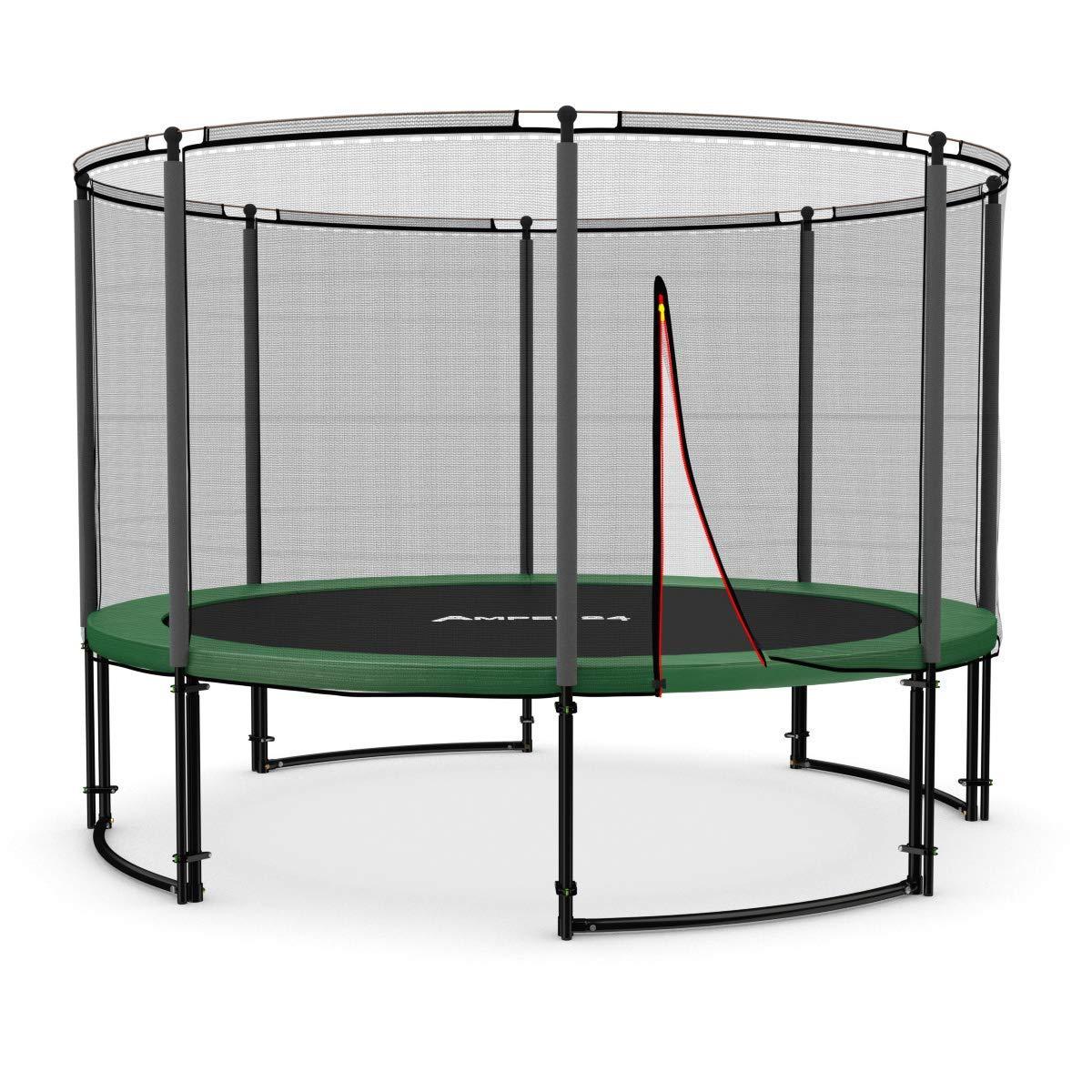 trampoline jardin deluxe ampel