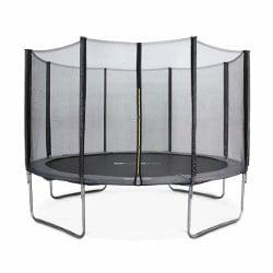 trampoline pour enfant avec filet de sécurité alice garden