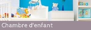 Mobilier et objets pour chambre de bébé et d'enfant