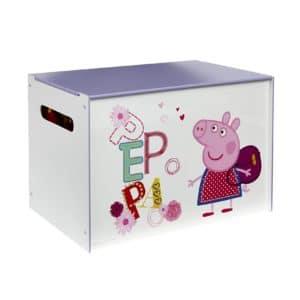 Coffre à jouets en bois Peppa Pig Worlds Apart
