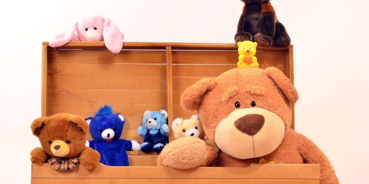 sélection de coffres à jouets pour enfant