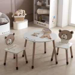 Table et chaises enfant Ted et Lily Demeyere