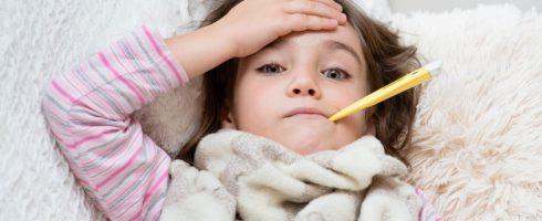 enfants malades