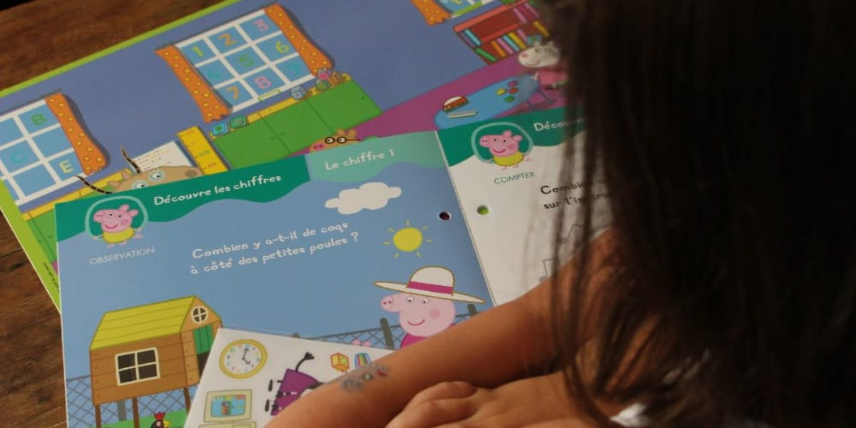 joue et apprends avec Peppa Pig