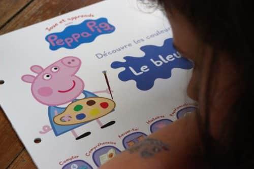 jouer et apprendre avec Peppa Pig