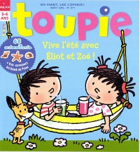 magazine pour enfant Toupie
