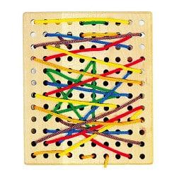 Planche à trous Montessori