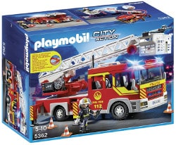 Unievrs Playmobil city action - camion de pompiers