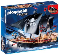 Playmobil pirates - bateau pirates des ténèbres