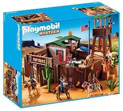 Playmobil western - fort des soldats américains