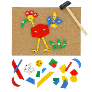 jeu des clous Montessori