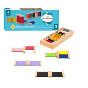la boite de couleurs montessori