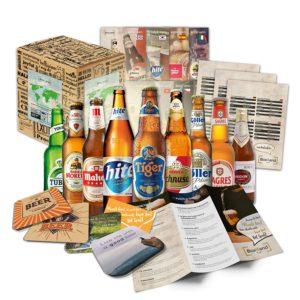 cadeaux pour papa : box bières du monde