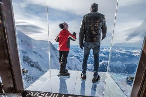 Pas dans le vide au Mont Blanc Natural Resort