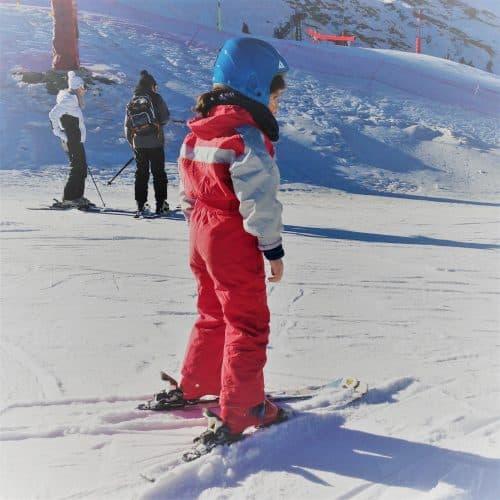 découverte du ski à cauterets