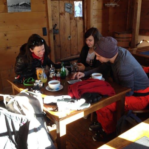 vacances à Megeve : auberge sur les pistes