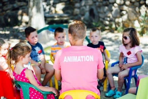 camping argeles sur mer animation enfants