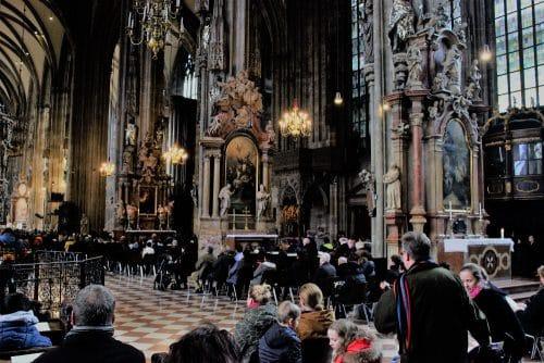 Vienne - cathédrale Saint Etienne sur Stephanplatz