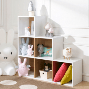cube de rangement pour chambre enfant