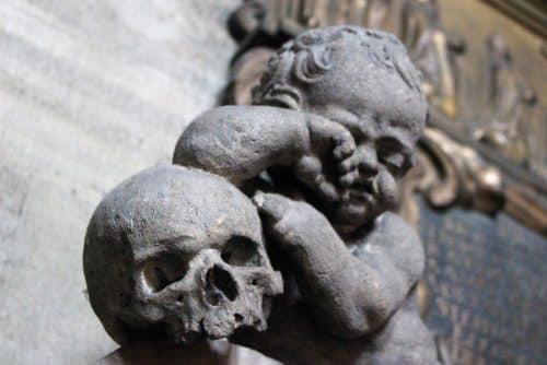 Vienne : détail de la cathédrale saint Etienne