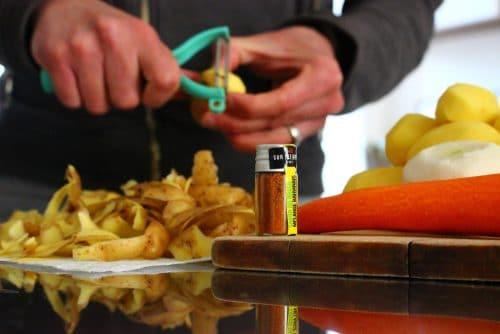 challenge Quitoque - préparer des papillotes de poulet aux épices brésiliennes